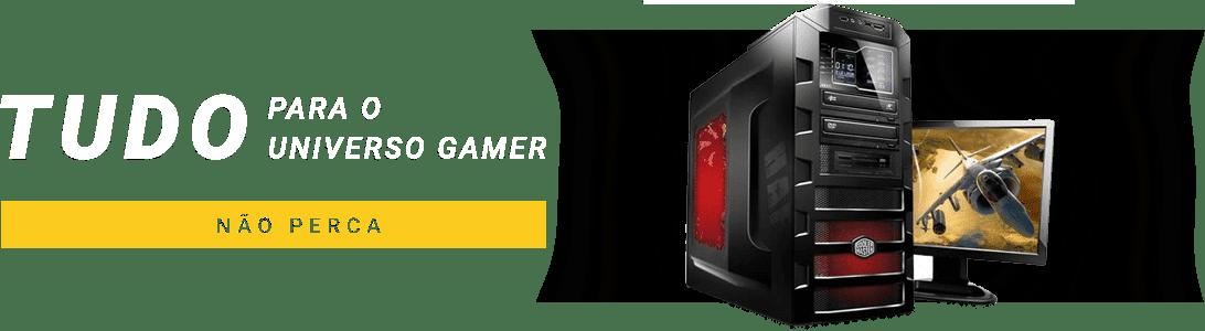 acessórios e gabinetes gamers