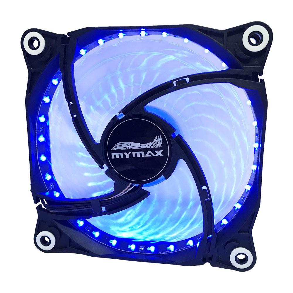 Cooler Fan Para Gabinete 120mm Azul Storm 2 Myc/fc-12025-33/bl Mymax