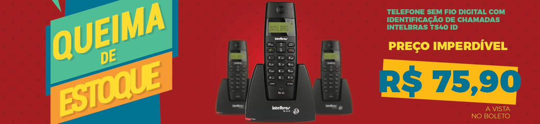 Telefone TS40 ID em Promoção
