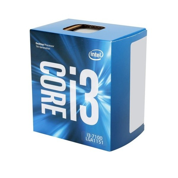 Processador Intel Core i3 7100 3.9Ghz Kaby Lake Socket LGA 1151 BX80677I37100