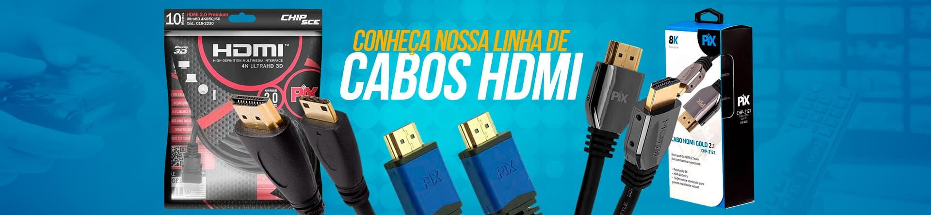 Cabos HDMI 2.0
