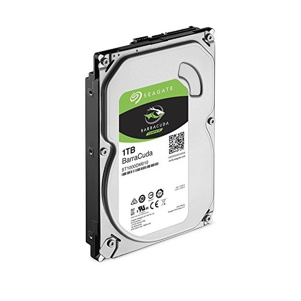 HD Para Desktop PC 1TB 7200 RPM 3.5 Sata 3 Seagate Barracuda 64mb ST1000DM010