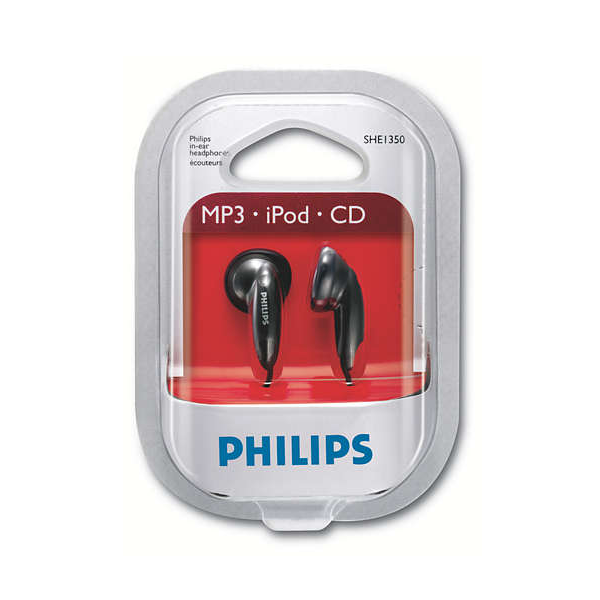 Fone de ouvido Intra-auricular Philips SHE1350