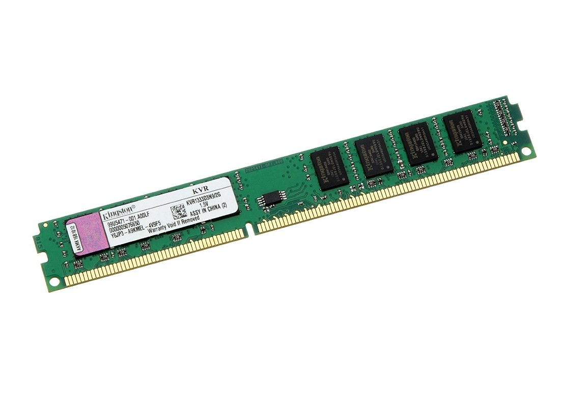 Memória 4gb DDR3 1333Mhz Kingston Pc3-10600 Kvr1333d3n9/4G OEM Para Desktop