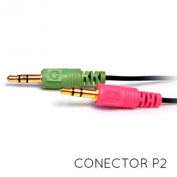 Fone de Ouvido 40mm com Microfone Gamer Predator C3 Tech MI-2558RB