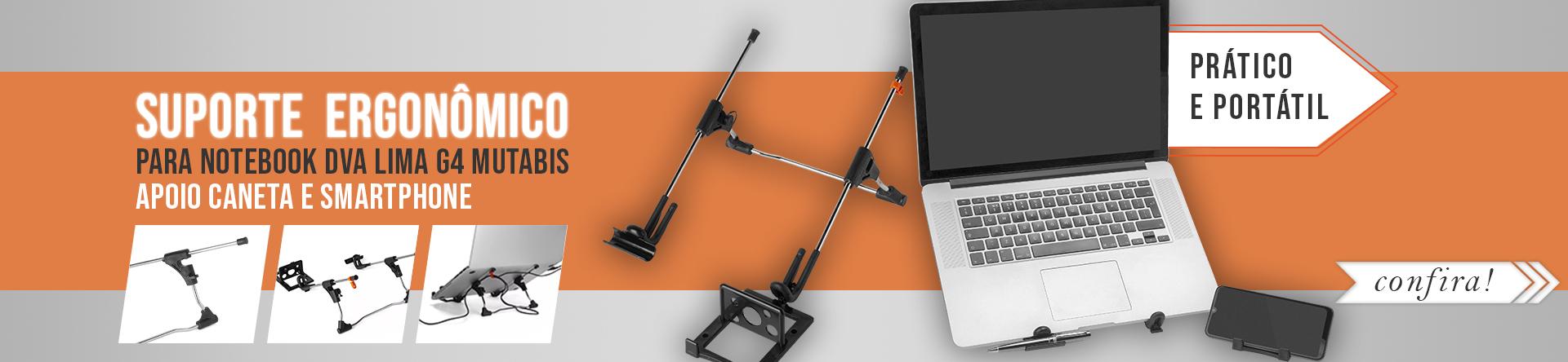 suporte ergonômico notebook dva lima