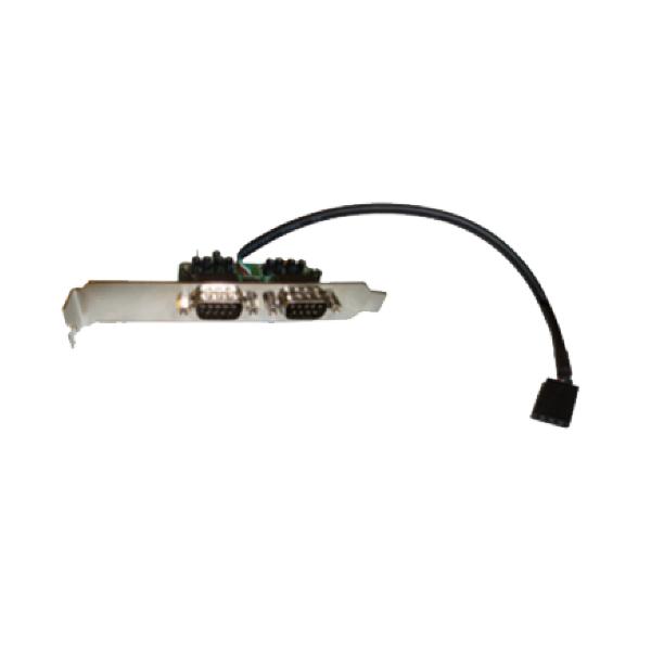 Conversor de USB interno para 2 saídas seriais RS232 SLIM Comm5 2S-USB-INT
