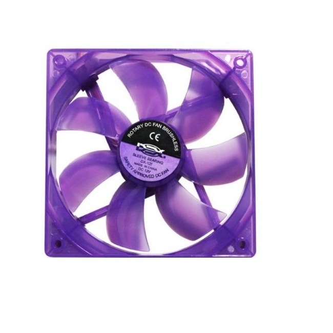 Cooler Fan 120mm Roxo Com LED Dex DX-12L