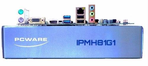 Placa Mãe PcWare IPMH81G1 Socket 1150 para Intel Core