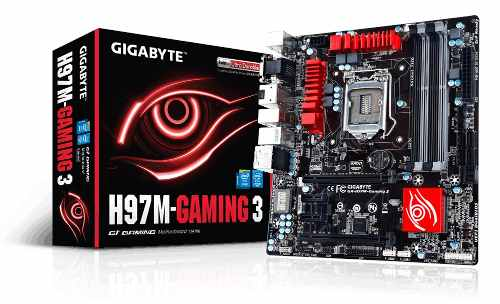 Placa Mae Gamer 4k Lga 1150 Intel Gigabyte Ga-h97m Gaming 3