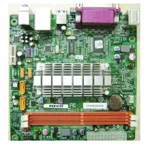 Placa Mae Pcware IPX410-D2 Atom Integrado Ddr2 e Sata