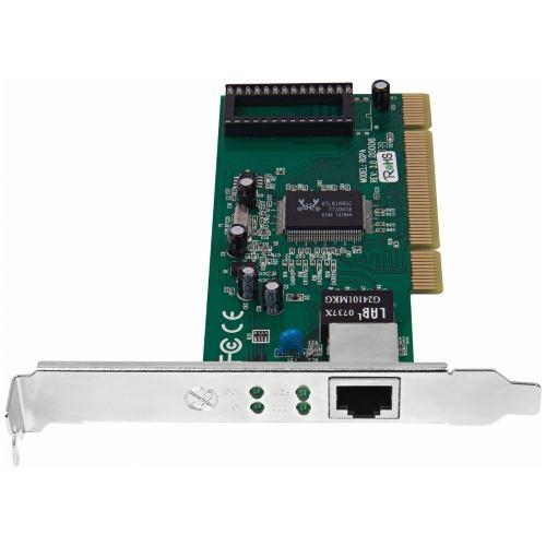 Placa De Rede Pci Gigabit 10/100/1000 Mbps Intelbras