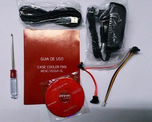 Case Gaveta Externa Em Alumínio para Hd 3,5 c/ Cooler (sata + Ide) Usb Mymax