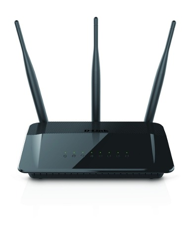 Roteador Wireless Ac 750 Mbps Dual Band Cloud Router D-link Dir-809 3 Antenas
