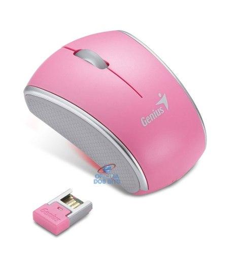 Mini Mouse Wireless Rosa Genius 900s Notebook Pc Computador