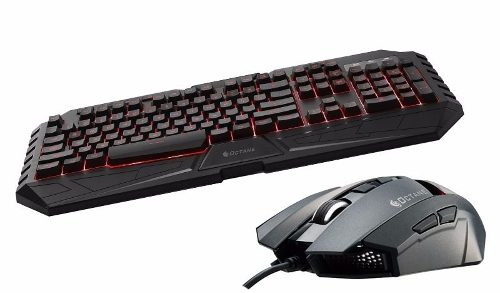 Kit Teclado E Mouse Gamer Cooler Master Octane Abnt2 7 Cores