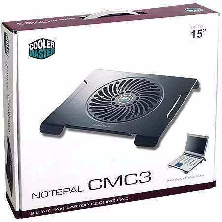 Base Suporte Notebook Cooler Master 200mm Grande Silencioso Usb