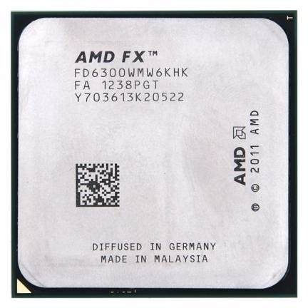 Processador Amd Fx-6300 3.5ghz Black Am3+ Fd6300wmhkbox