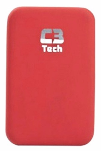 Gaveta Case para Hd Externo 2,5 de Notebook Vermelho C3 Tech CH-25202