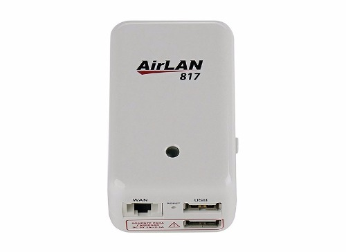 Repetidor Wireless Opticom AirLan 817 C/ Usb Compartilhe Fotos Músicas