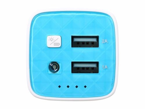 Carregador Portatil Tplink TL-PB10400 10400mah com 2 Portas USB