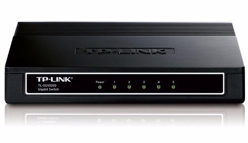 Switch Hub Gigabit de Mesa de 5 Portas TP- Link TL-SG1005D