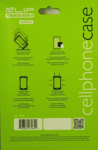 Capa para Smartphone Galaxy S3 Case Borracha Película Flanela Mágica Klipxtreme KSC-180WH