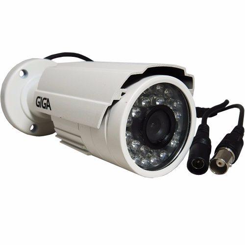 Câmera Segurança Infra Alta Resolução Giga Ccd Sony 960 Linhas Preto