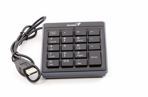 Teclado Numérico Usb Slim Genius Numpad i110 para PC e Notebook