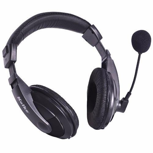 Fone de Ouvido com Microfone e Controle De Volume P2 Kolke KMI-102