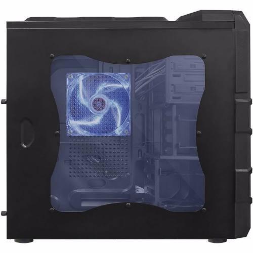 Gabinete ATX Usb 3.0 Gamer Rhino 3 Coolers Led Azul PCYES