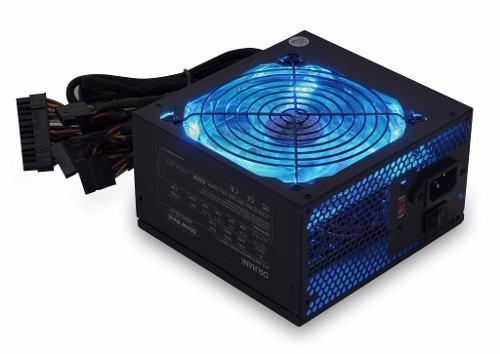 Fonte 350w Reais G-fire GP-350E Atx Gamer Com Led Azul Bivolt