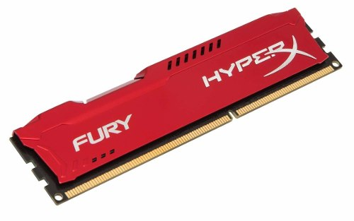 Memória Ddr3 4gb 1600mhz Kingston Hyper X Fury P/ Desktop Pc