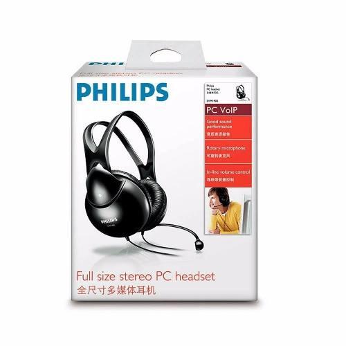 Fone De Ouvido Headset Com Microfone Philips Shm1900 P2