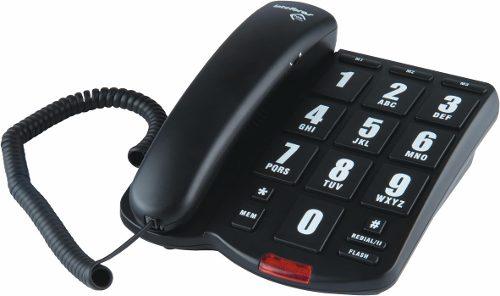 Telefone Tok Facil Com Fio e Teclas Grande Discagem Facil Para Idosos Intelbras