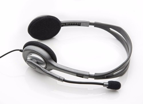 Fone De Ouvido Headset P2 Com Microfone Logitech H110