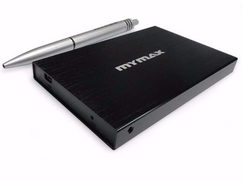 Case Gaveta Externa Para Hd Sata de Notebook 2,5 USB 2.0 Mymax Menc/U25ya-bk