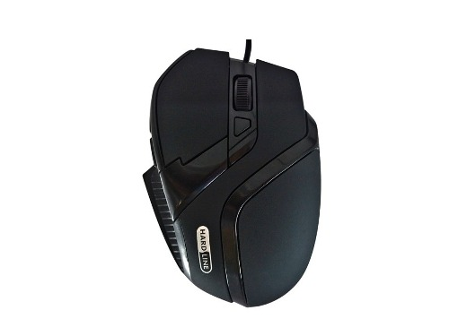 Mouse Gamer Optico Ergonomico Usb 2400 Dpi Hardline