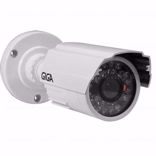Câmera Segurança Infra Alta Resolução Giga Ccd Sony 960 Linhas Branca