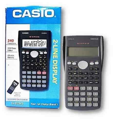 Calculadora Cientifica Casio 2 Linhas Cassio Fx 82ms Slider