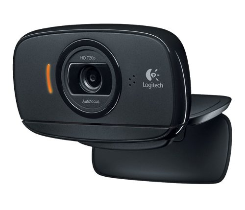Webcam USB Logitech C525 HD 720p com Microfone.