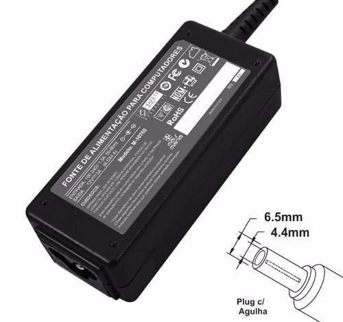 Fonte Para Monitor Lg E2240 E2250 E2260 E2340 E2350 E2360 Séries 12v 3a 36w Plug 6,5mm x 4,4mm