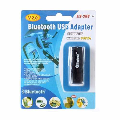 Adaptador Receptor Bluetooth Usb Para Notebook E Computador