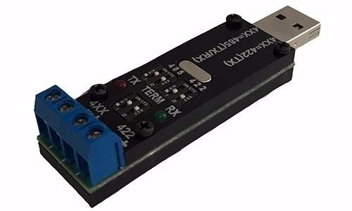 Conversor Adaptador Usb Serial Rs485 Rs422 Comm5 1s-usb-485-2