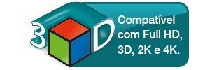 Cabo Adaptador Conversor Usb Type C  3.1 Para Hdmi 1.4 3D 4K Comtac 9330