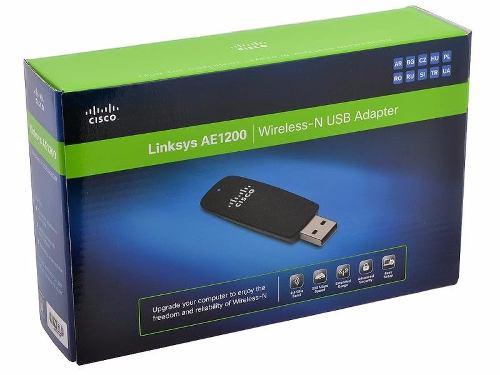 Adaptador Wireless Usb Linksys 300mbps Ae1200-la 2.4ghz