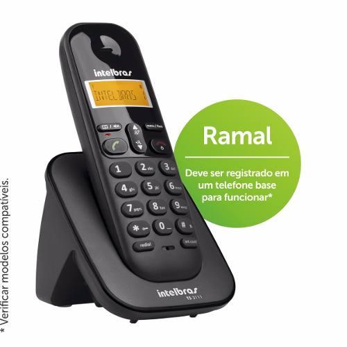 Ramal Sem Fio Ts3111 Para Telefone Ts3110 Ts3112 Ts3130 Ts60v Ts40id Intelbras