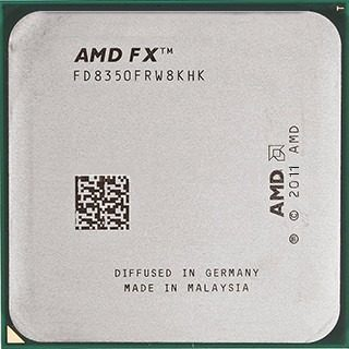 Processador Amd Fx-8350 4ghz 16mb L2 Cache Black Edition Am3+