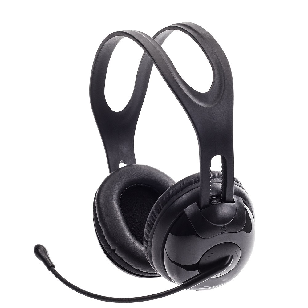 Fone Ouvido Gamer Headset Com Microfone P2 40mm 100mw Mymax PHN-HT8000/BK