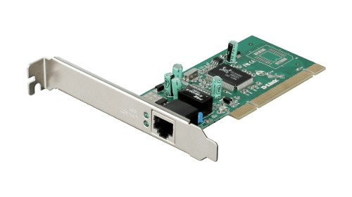 Placa Rede Gigabit Pci 10/100/1000 D-Link Dge-528t Windows MAC Linux + Perfil Baixo